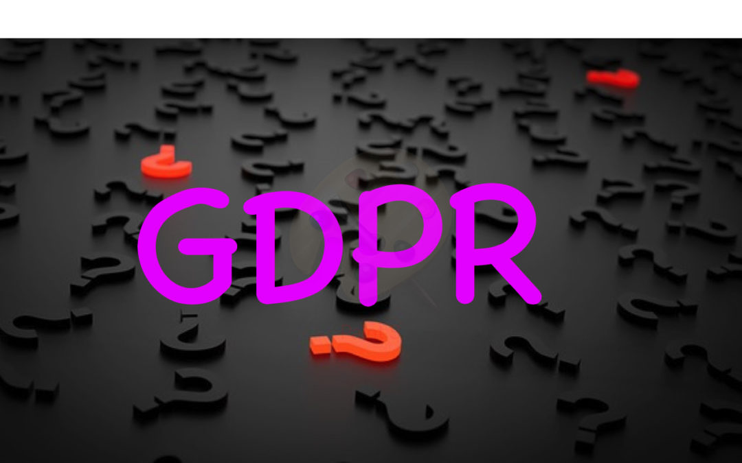 GDPR Black question marks
